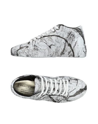 Android Homme Sneakers White EPD8vb