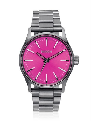 Sentry 38 Ss Watch With Pink Dial