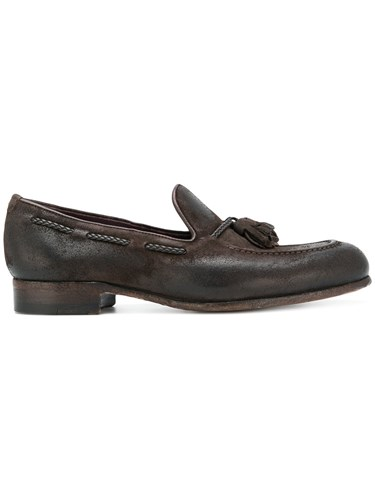 Brown Loafers Lidfort Leather Tassel Leather Tassel Lidfort Loafers 1aFw0
