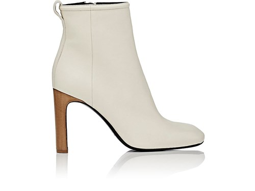 Rag and Bone Women's Ellis Leather Ankle Boots Ivory White QHwnHSf