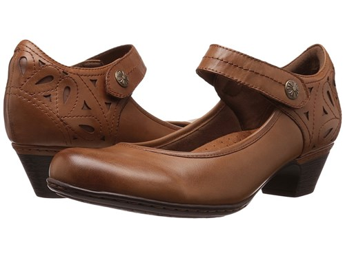 Rockport Cobb Hill Collection Abbott Ankle Strap Almond Leather Women's Shoes Multi kb7bgO7nI