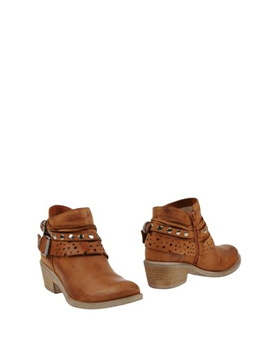 Fabrizio Chini Ankle Boots Brown 2AvNXqh7OU