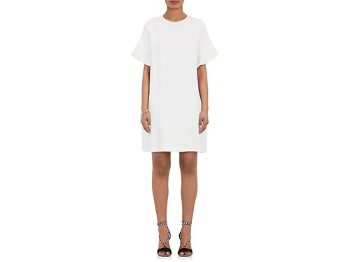 Women's Lisa Dress Flyaway Flounce White Perry aww8H5
