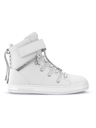Swear Regent Hi Top Sneakers Calf Leather Nappa Leather Rubber White oqTcNd4ot