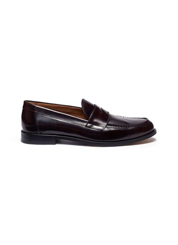 Penny Loafers MAURIZI Cordovan Leather ANTONIO Brown xwqgU6ppB
