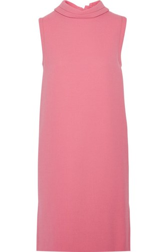 Marni Pink Wool Wool Marni Crepe Dress XXrYw
