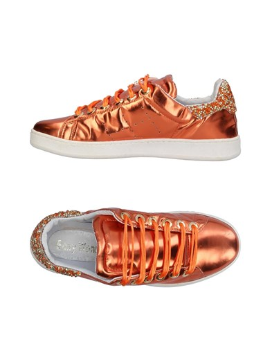 Sexy Woman Sneakers Orange 7JPZKKTSkB
