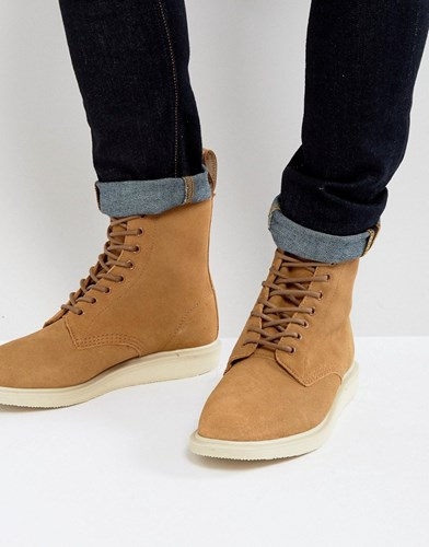 Dr. Martens Dr Whiton Hi Suede Boots Beige yXcnA8KZA