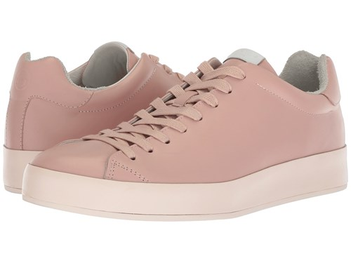 Rag and Bone Rb1 Low Top Sneakers Pink Smooth Nappa Lace Up Casual Shoes 5AL7YWH
