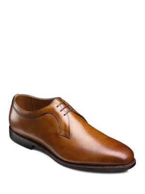 Allen Edmonds Grantham Leather Oxfords Walnut J780yj735