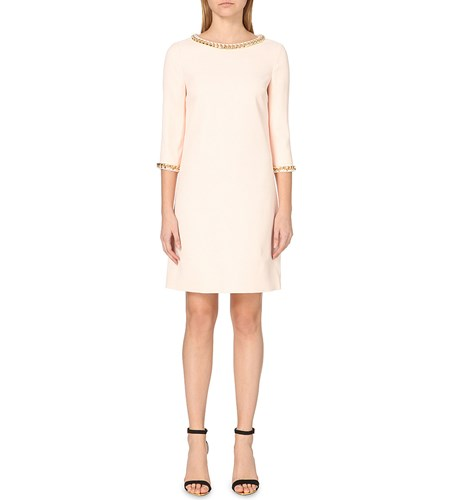 Ted Baker Hadim Chain Embellished Tunic Dress Baby Pink PPx7A