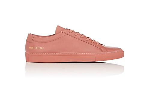 Common Projects Original Achilles Leather Sneakers Rose ckD3bBDN