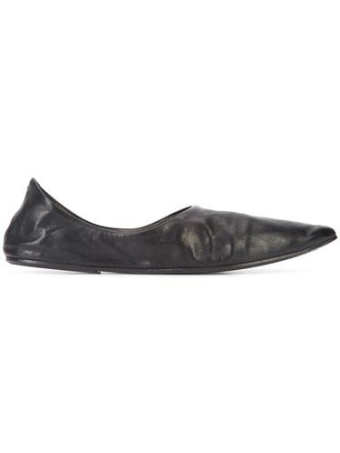 Marsèll Pointed Toe Slippers Black bs6XEHm