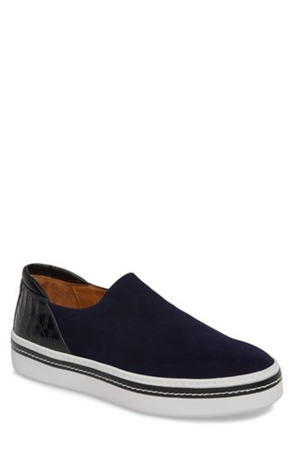 Sneaker BANK Blue RIGHT On CO Stan SHOE Suede Midnight Slip Ydaqdv8