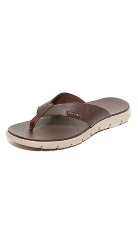 Cole Haan Zerogrand Thong Sandals Java Cobblestone nZndWc