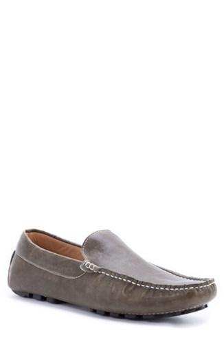 Zanzara Picasso 3 Moc Toe Driving Loafer Olive Leather qHJIkqs26