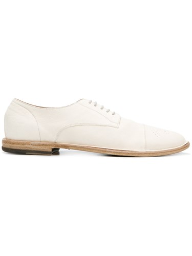 Pantanetti Lace Up Derby Shoes White TADVEs