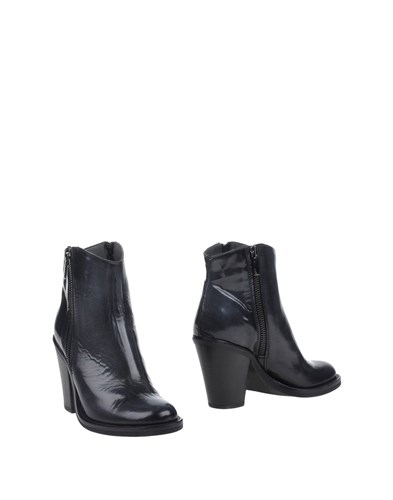 GLAM Boots PROGETTO Grey Ankle Steel aqPw7AnH