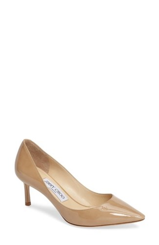 Jimmy Choo Women's 'Romy' Pump Nude Patentnew jrAbX
