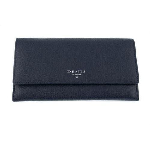 Dents Leather Purse With Rfid Protection Blue GuqVtlGiMz