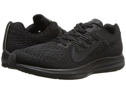 Nike Air Zoom Winflo 5 Black Anthracite Running Shoes Multi RZmAe