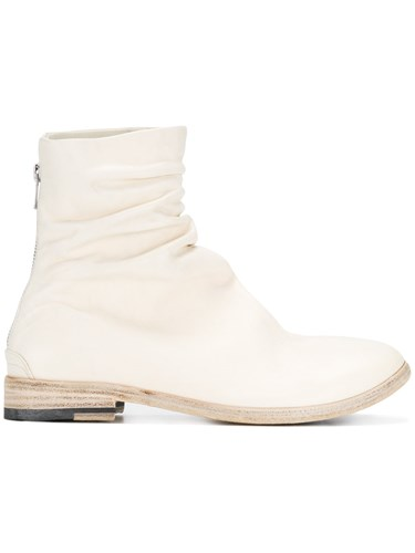 The Last Conspiracy Zipped Boots Leather White DC2nvWEVl