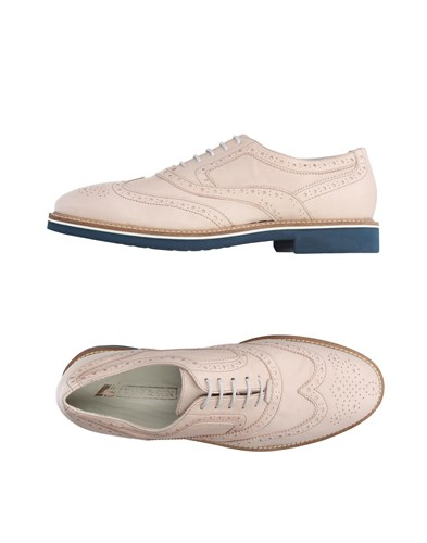 K852 & SON Lace Up Shoes Beige ayJnmx
