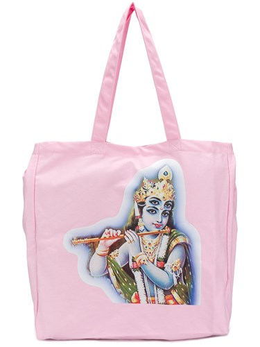 PAM P.A.M. Indian Goddess Tote Pink And Purple y89Hl8RXb