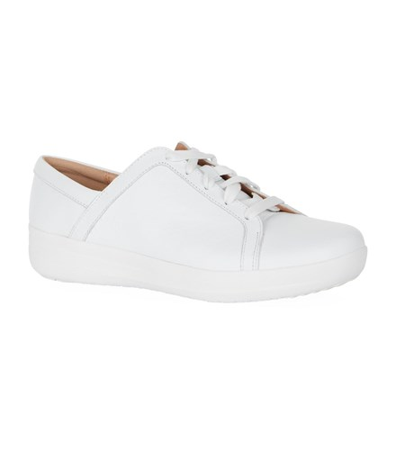 FitFlop Leather F Sporty Ii Sneakers White IiG8sM1w