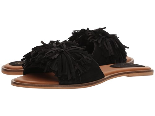 Musse&Cloud Samantha Black Slide Shoes lw435fKr5