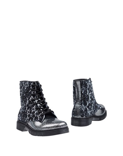 2star Ankle Boots Silver cb82Cvus
