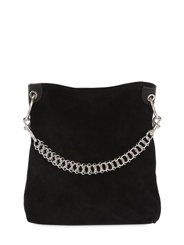 Little Liffner Candy Suede Mini Bucket Bag YoN1LBbamX