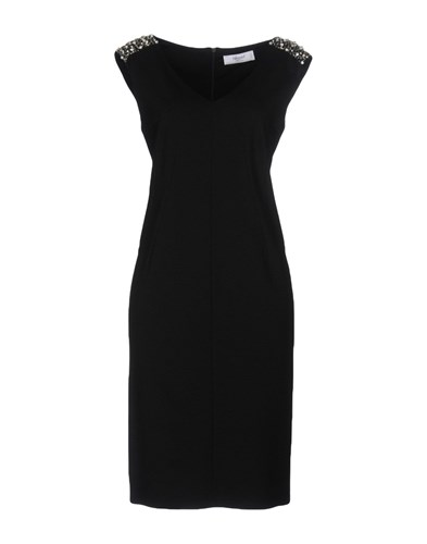 Blugirl Blumarine Knee Length Dresses Black YoVuW
