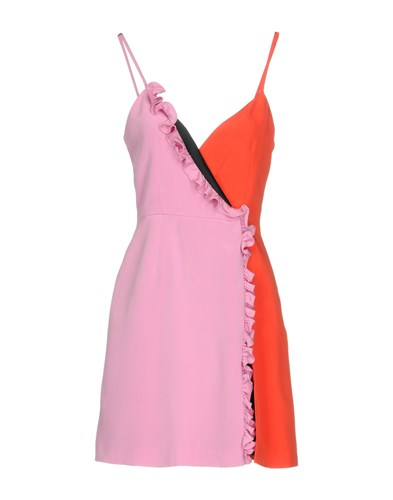 Fausto Puglisi Short Dresses Pink q4w5H