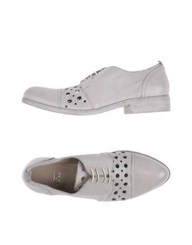 JFK Lace Up Shoes Light Grey ewO7OA