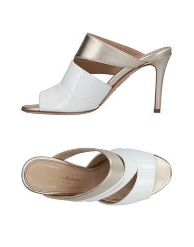 BENEDETTA BOROLI Sandals White Am6jnhw