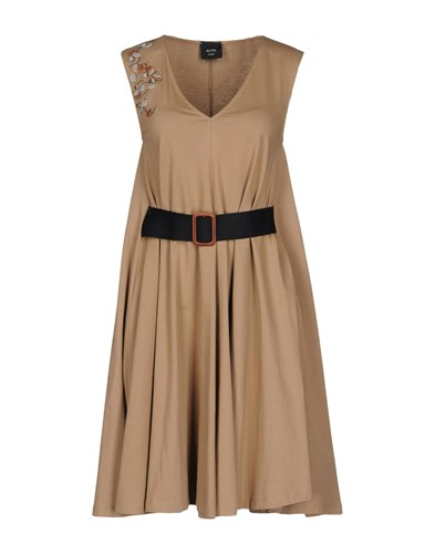 Alysi Short Dresses Brown ufQU5sDI