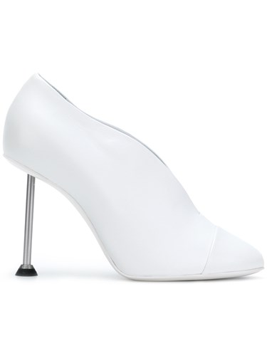 Victoria Beckham Pinup Pumps Lamb Skin Leather White nW5M0wD
