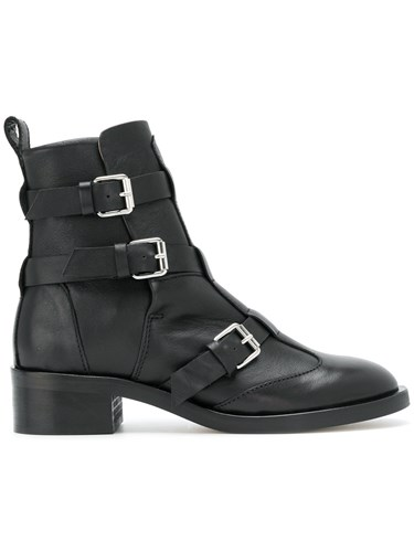 Diesel Darlin Boots Calf Leather Leather Black rSyko