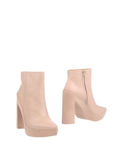 Vic Matié Ankle Boots Light Pink wZRbOiO