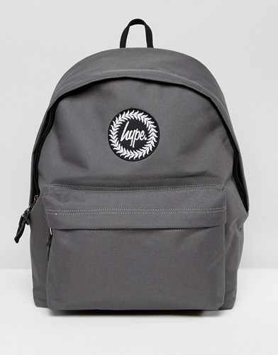 In Hype Exclusive Gray Strap Script Backpack Gray 66Oqfzw