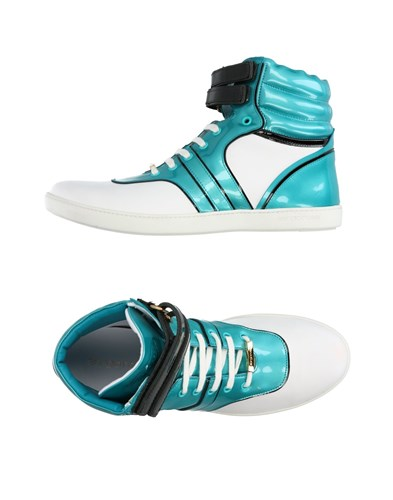 Sergio Rossi Sneakers Turquoise G3H8fg