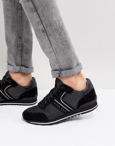 Boss Mix Media Trainers In Black EuPVEr3