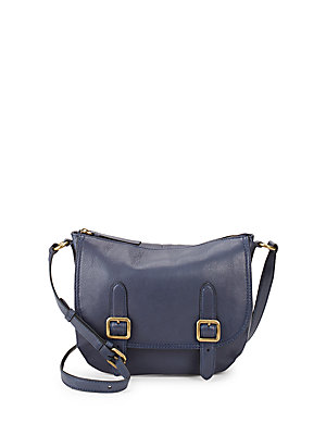 Frye Lil Leather Crossbody Bag Navy mJ7Yq9jF0G