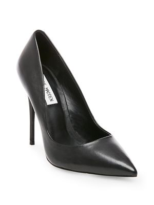 Steve Madden Daisie Leather Pumps Black igMe7R0