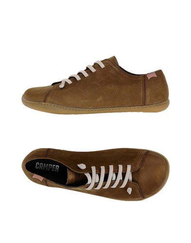 Camper Lace Up Shoes Green 8IM7Ma