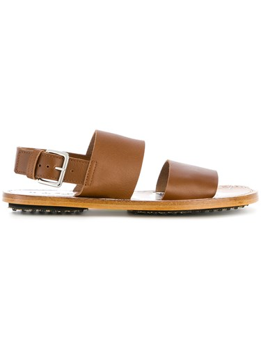 Marni Fussbett Sandals Brown 0npdlvb7U2