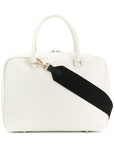 Jil Sander Large Tote Bag White uBMK52W1