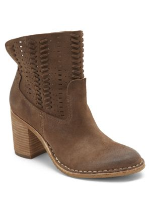 Taupe Suede Vita Dolce Landon Booties ncROcpHq