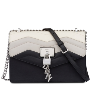DKNY Elissa Small Shoulder Bag Created For Macy's Black Combo VY44D